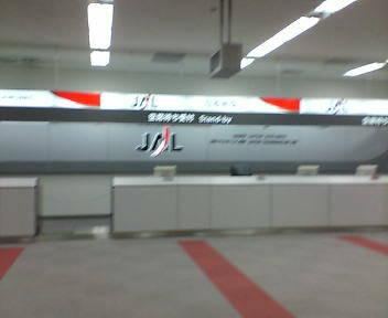 JALに乗ります